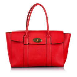 Red Mulberry Bayswater Leather Shoulder Bag