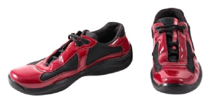 prada red and black shoes \u003e Up to 70