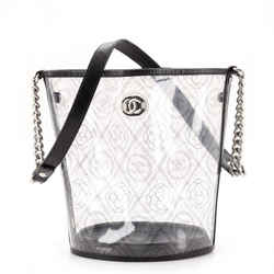 Camellia Coco Bucket Bag Printed PVC Medium