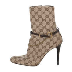 Gucci Gg Monogram Booties