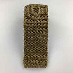 Charvet Olive Green Silk Textured Knit Tie