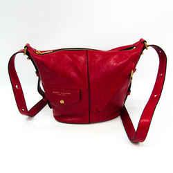 Marc Jacobs Mini Sling Bag M0013533 Women's Leather Shoulder Bag Red Bf331068