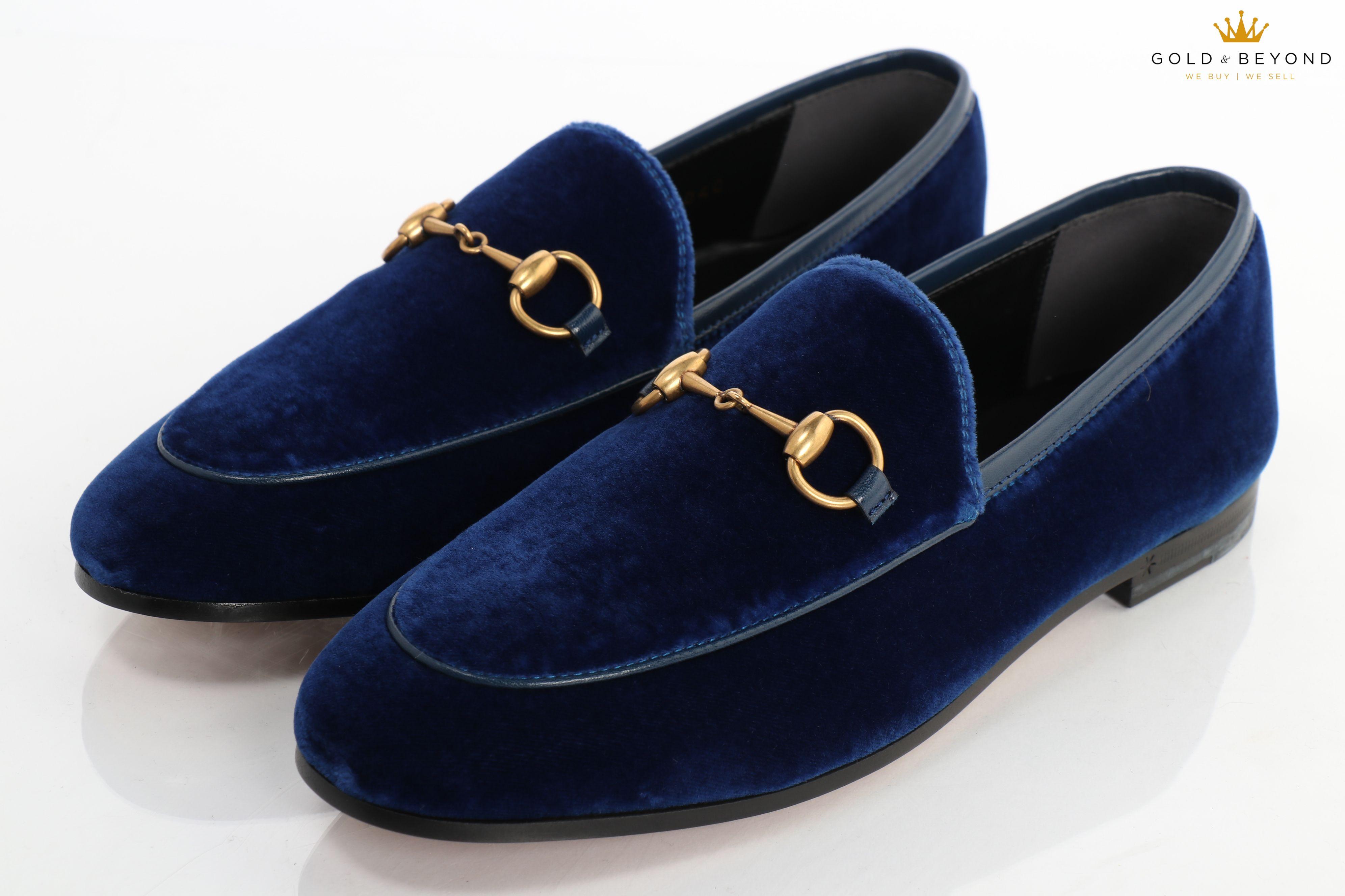 Gucci Jordaan Women's Velvet Loafers