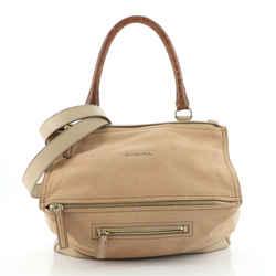 Pandora Bag Snake Embossed Leather Medium