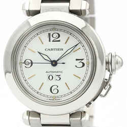 Polished CARTIER Pasha C Big Date Automatic Unisex Watch W31044M7 BF510530