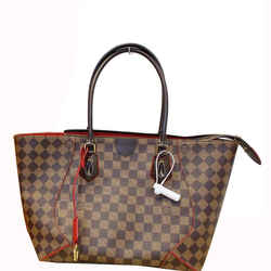 Louis Vuitton Caissa Mm Damier Ebene Tote Bag