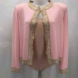 St John Pink Evening Jacket 14