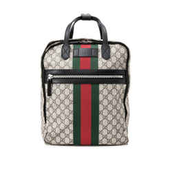 Pre-Owned Gucci GG Supreme Medium Backpack