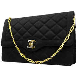 Chanel Quilted Satin Classic Flap 221001