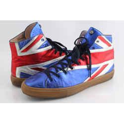 Gucci Men's Union Jack High-top Sneaker