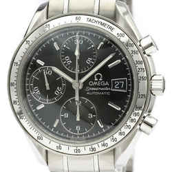 Polished OMEGA Speedmaster Date Steel Automatic Mens Watch 3513.50 BF516889