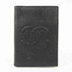 Chanel A13503 Caviar Leather Card Case Black BF527688