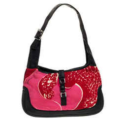Gucci Multicolor Printed Canvas and Leather Jackie O Hobo