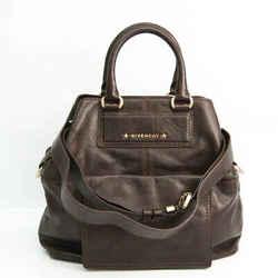 Givenchy Women's Leather Handbag,Shoulder Bag Dark Brown BF526810