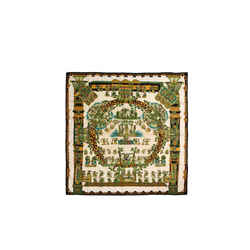 Hermes Astres Et Soleils 90 Cm Silk Scarf