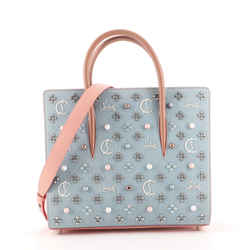 Paloma Tote Embellished Denim Medium