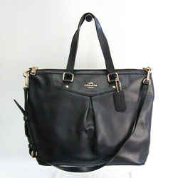 Coach Luxury Cross Grain Leather Pleated F34680 Women's Leather Handbag BF526626