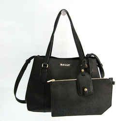 Bally Women's Leather Handbag,Shoulder Bag Black BF518541
