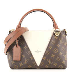V Tote Monogram Canvas and Leather BB