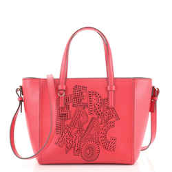 Bonnie Convertible Tote Perforated Leather Medium