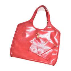 Louis Vuitton Plage Lagoon GM Red Vinyl Epi & Leather BeachTote Bag