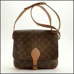 Rdc11478 Authentic Louis Vuitton Lv Monogram Cartouchiere Gm Shoulder Bag