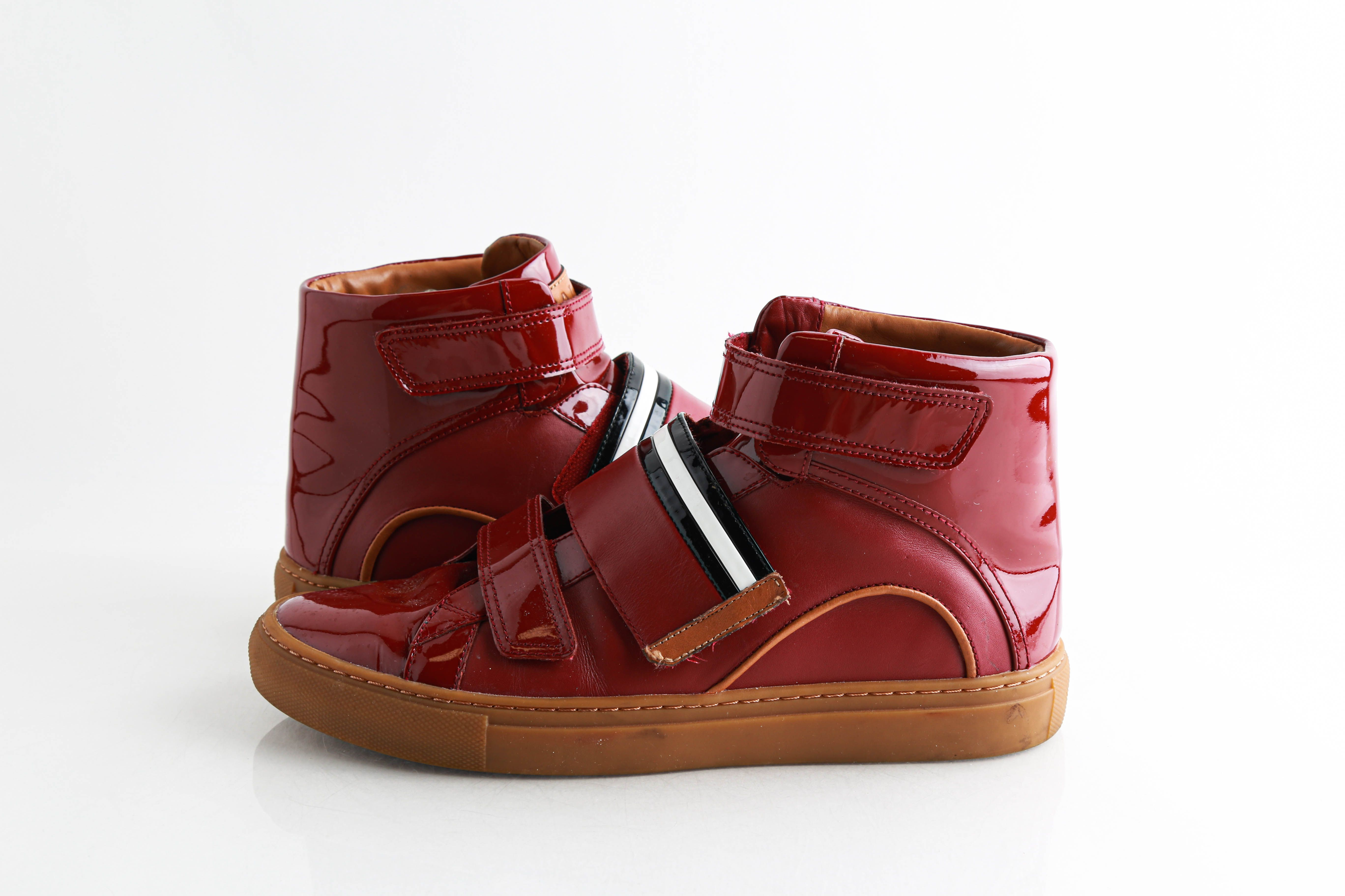 Bally Herick Leather High-Top Sneakers