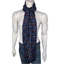 Wool Silk Scarf / Shawl