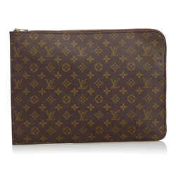 Louis Vuitton Monogram Poche Documents Folder Pochette clutch Bag 580lvs312