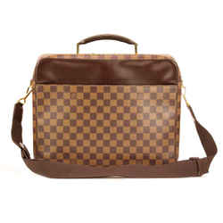 Louis Vuitton Damier Ebene Brown Porte Ordinateur