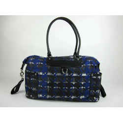 "Rebecca Minkoff: Blue ""mom's Essential"" Large Shoulder/tote Diaper Bag"