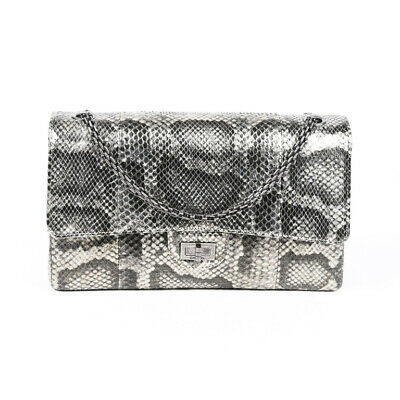 Chanel 2.55 Reissue 226 Python Shoulder Bag