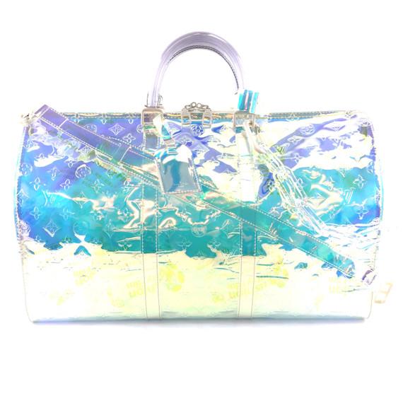 Louis Vuitton Keepall 50 Bandouliere Clear Prism PVC