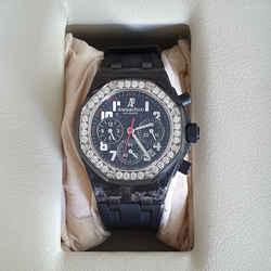 Audemars Piguet Royal Oak Offshore Diamond Forged Carbon Ladies Watch