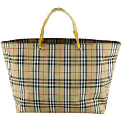 Burberry Nova Check Blue Label Shopper Tote Bag 4Bur123