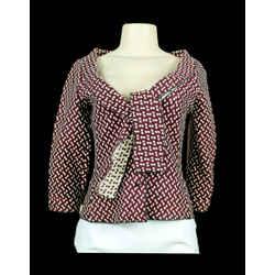 MIU MIU Wool Patterned Jacket