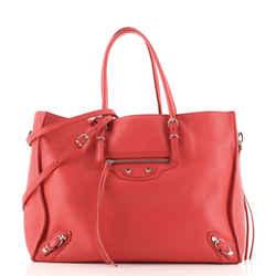 Papier B4 Zip Around Classic Studs Bag Leather