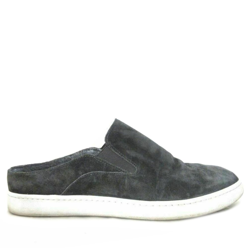 Vince | Verrell Charcoal Gray Suede