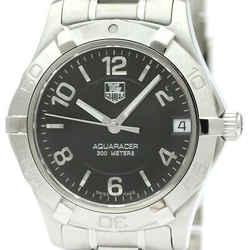 Polished Tag Heuer Aquaracer Steel Quartz Unisex Watch Waf1310 Bf340879