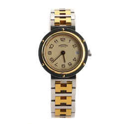 Clipper Quartz Watch Stainless Steel and Plated Metal 24