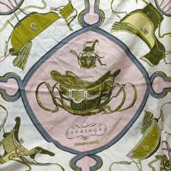 Hermes  Springs Scarf 90cm  Carre 90 100% Silk 862267