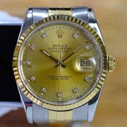 Rolex Datejust Factory Diamond Dial 36mm Watch-ALL FACTORY