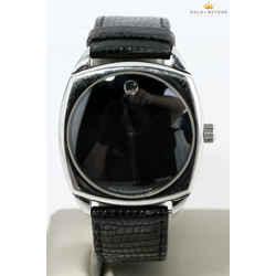 Movado 36mm Museum Cushion Watch  84.F4.1342