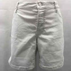 Burberry White 5 Pocket Shorts 31