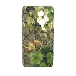 New/authentic Gucci 417895 Gg Supreme Blooms Iphone 6 Plus Phone Cover
