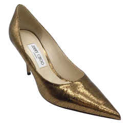 Jimmy Choo Love Bronze Pumps