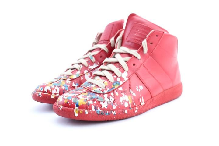 Maison Margiela Red Chaussures Homme