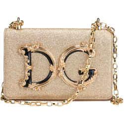Dolce & Gabbana Borsaspalla-tracolla Soft Lurex Crossbody Bag