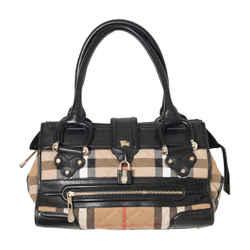 Burberry House Check Manor Bag
