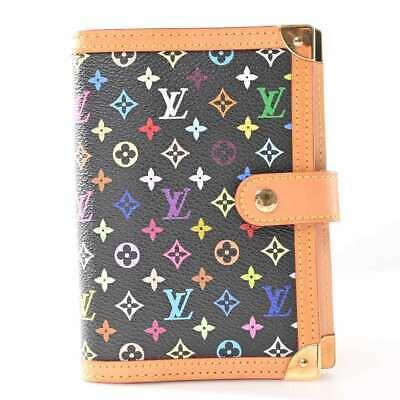 Auth Louis Vuitton LOUIS VUITTON Multi Agenda PM Color PVC